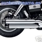 Colas de escape Screamin Eagle para HARLEY Dyna Fat Bob