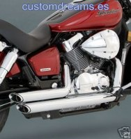 Escape VANCE AND HINES HONDA SHADOW VT750 2004-2008 [18419]