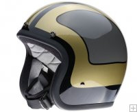 BONANZA HELMET - LE FURY BLACK/GREY/GOLD
