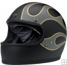Casco GRINGO - LE FLAMES BLACK/GREY