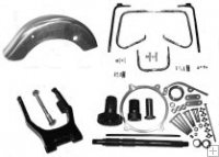 Kit neumatico 200 para Harley Road King Electra Ultra